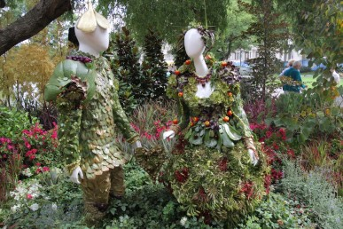 People made from plants