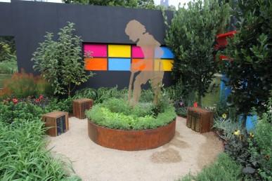 The Victorian School Gardens Awards garden